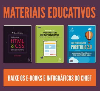Materiais Educativos do Chief of Design - Baixe os e-books e infográficos do Chief