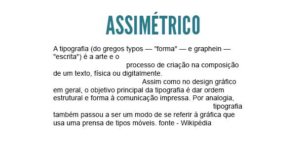 assimetrico