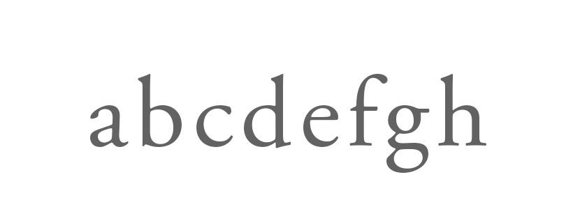 tipografia: glifos