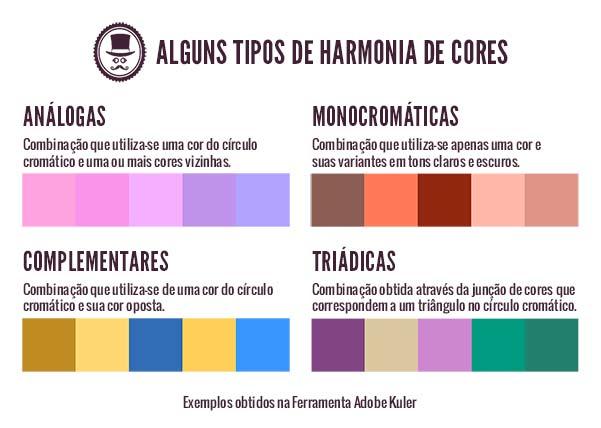 harmonia de cores