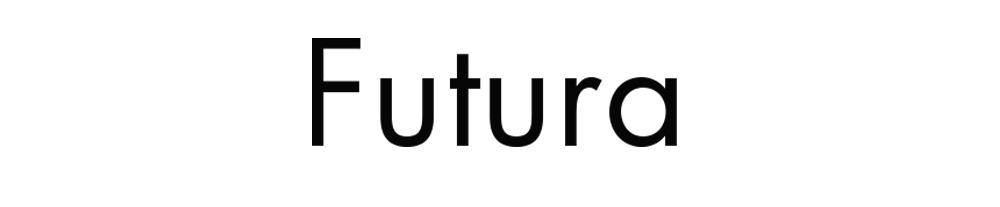 tipografia - futura