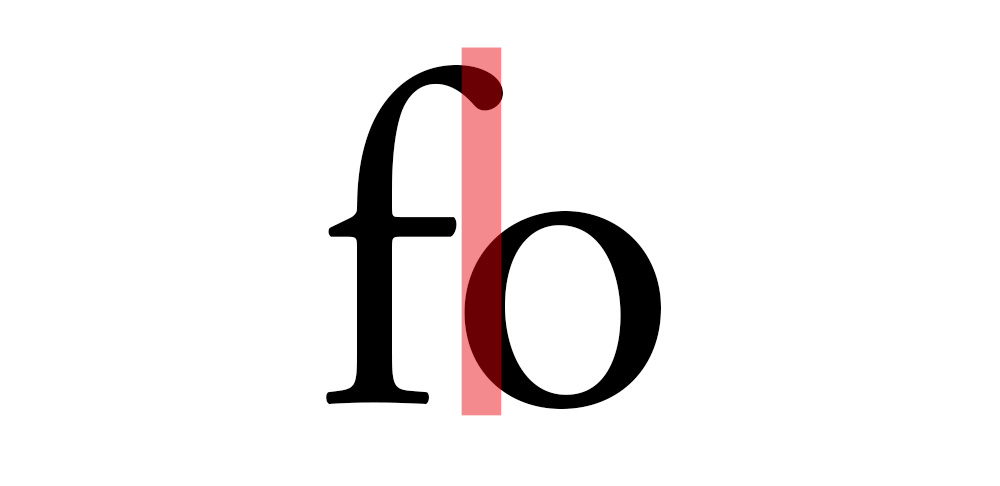 tipografia - kerning