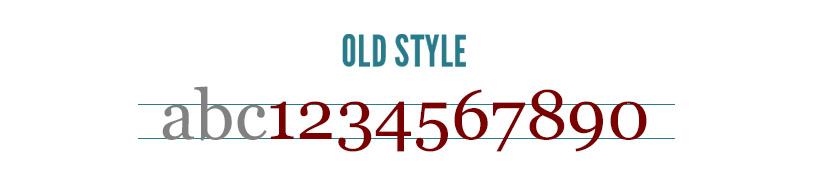 tipografia: old-style