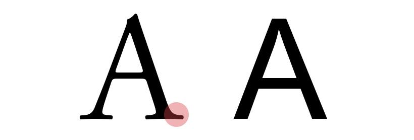 tipografia: serifa