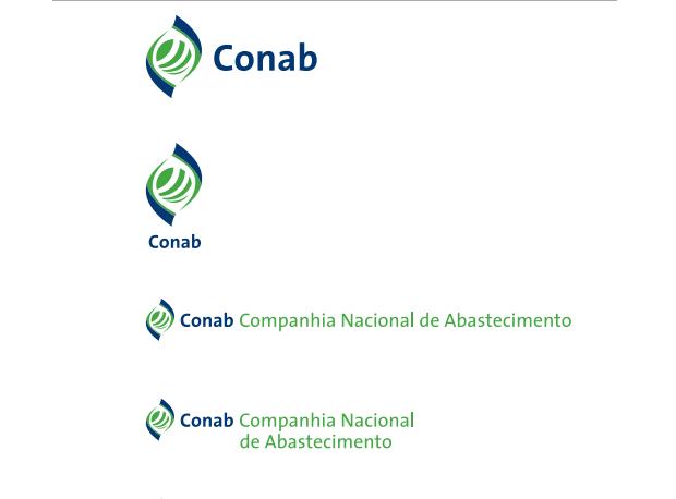 exemplo de assinatura da marca - imagem retirada da página de apresentação do manual de marca da UNB - Universidade de Brasília
