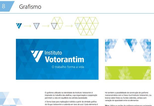 exemplo de aplicação da marca de elementos adicionais - imagem retirada da página de grafismo do manual de marca do Dropbox