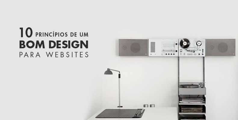 10 principios de um bom design para websites