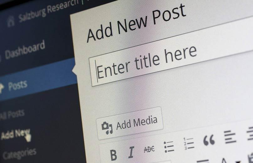 Wordpress como CMS- WP publicações