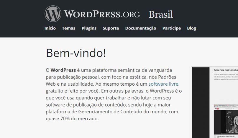 comunidade wordpress