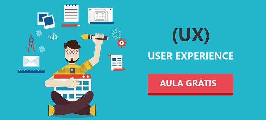 user experience  - aula grátis