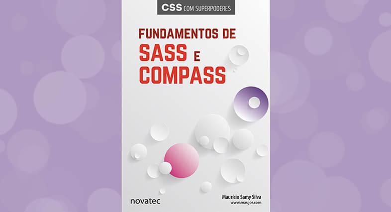Capa do Livro: Fundamentos de SASS e COMPASS