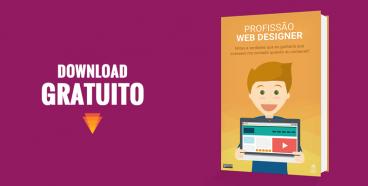 texto download gratuito mais uma imagem ilustrativa do ebook profissao web designer