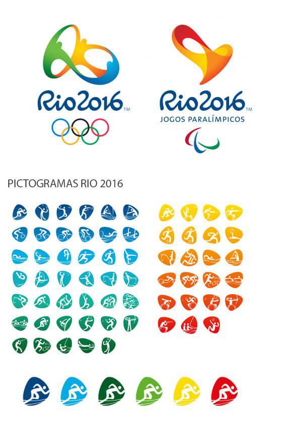 pictogramas rio 2016