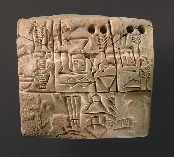 escrita cuniforme