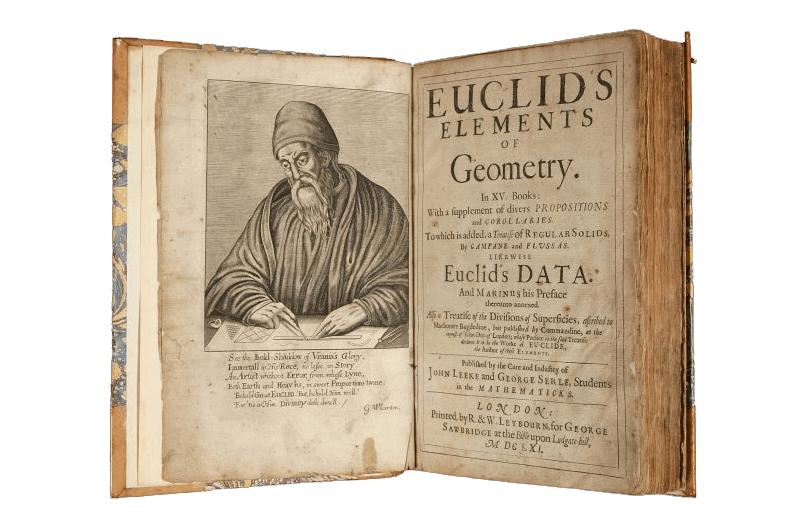 proporção áurea - Os Elementos - Livro por Euclides