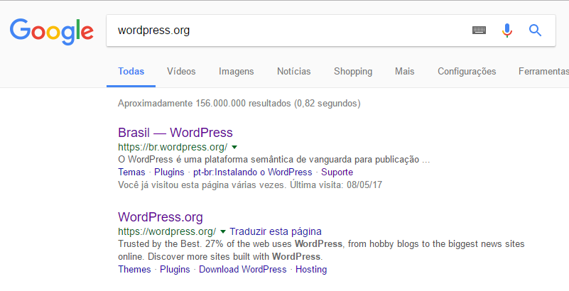 comunidade wordpress