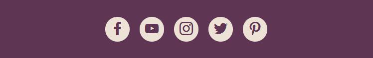 Botões curtir de redes sociais
