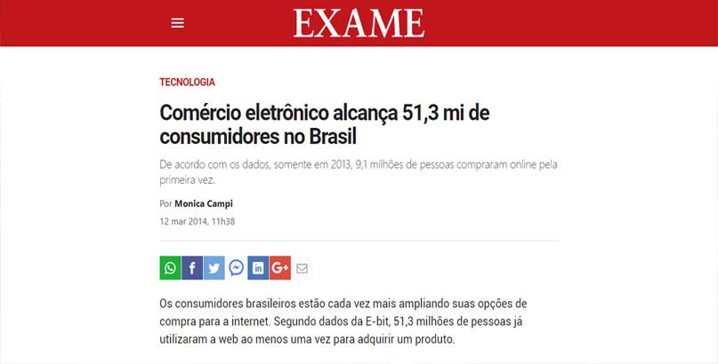 e-consumidores no Brasil