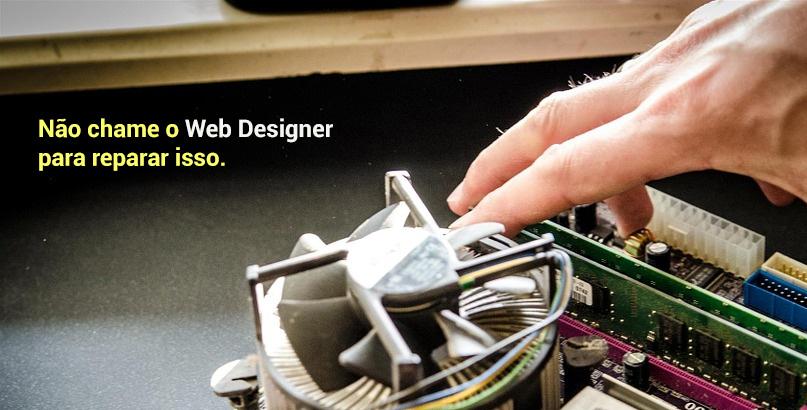 O que um Web Designer não faz?