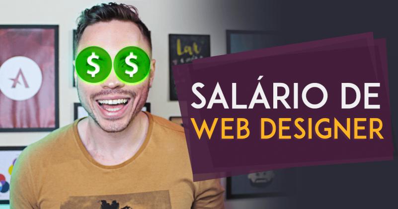 web designer salário -salário de web designer