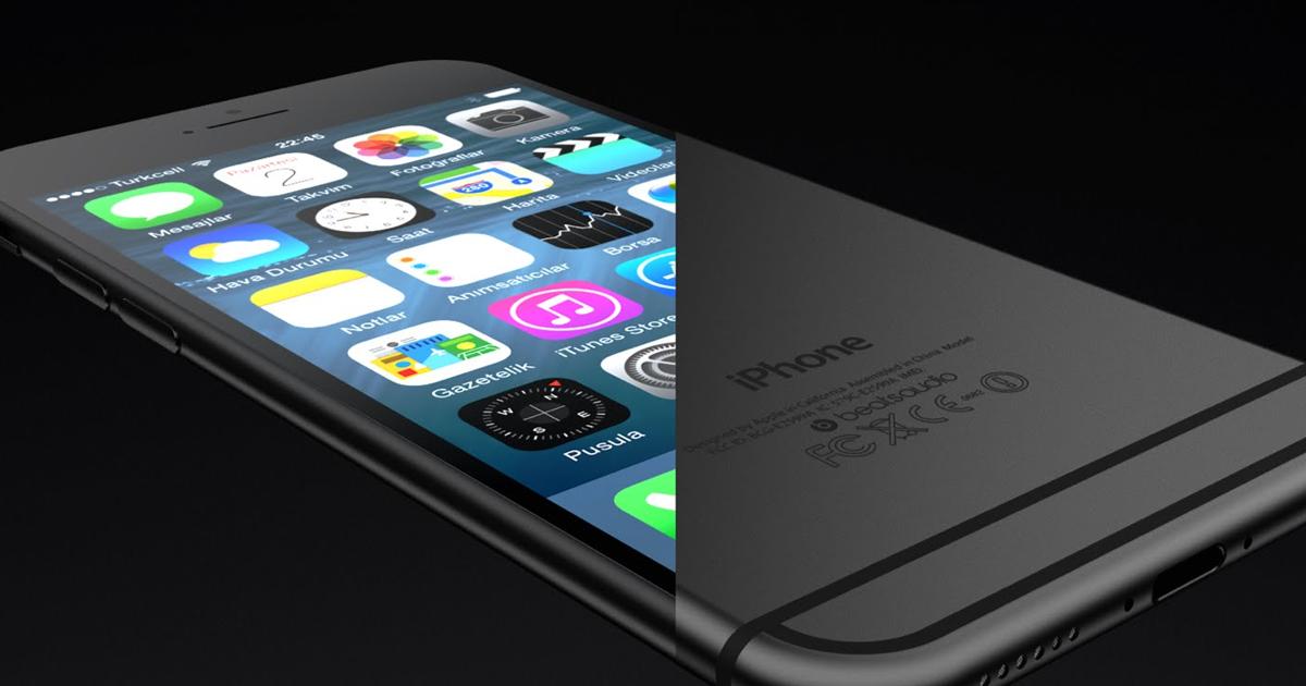 O que é design: exemplo de um iphone 6