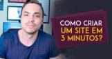 Como criar um site em 3 minutos?