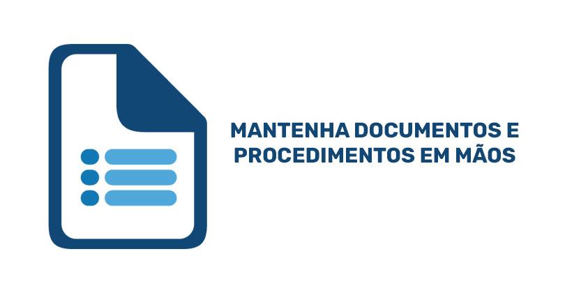 documentos procedimentos