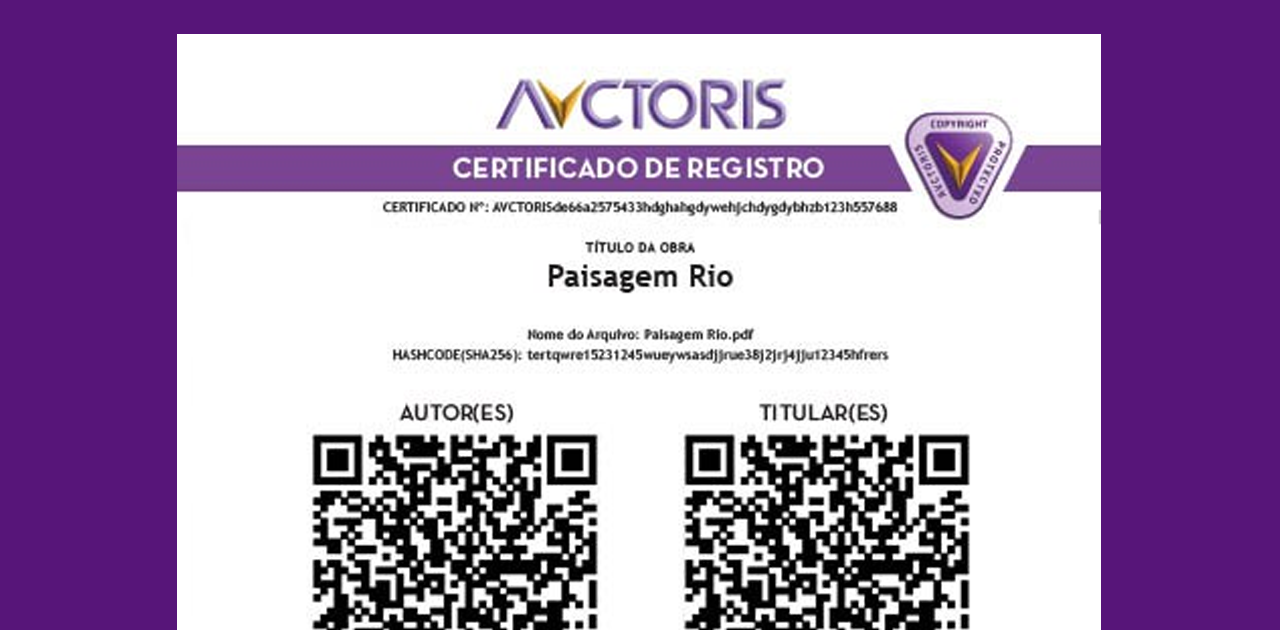 avctoris-certificado-de-registro - Avctoris é confiável?