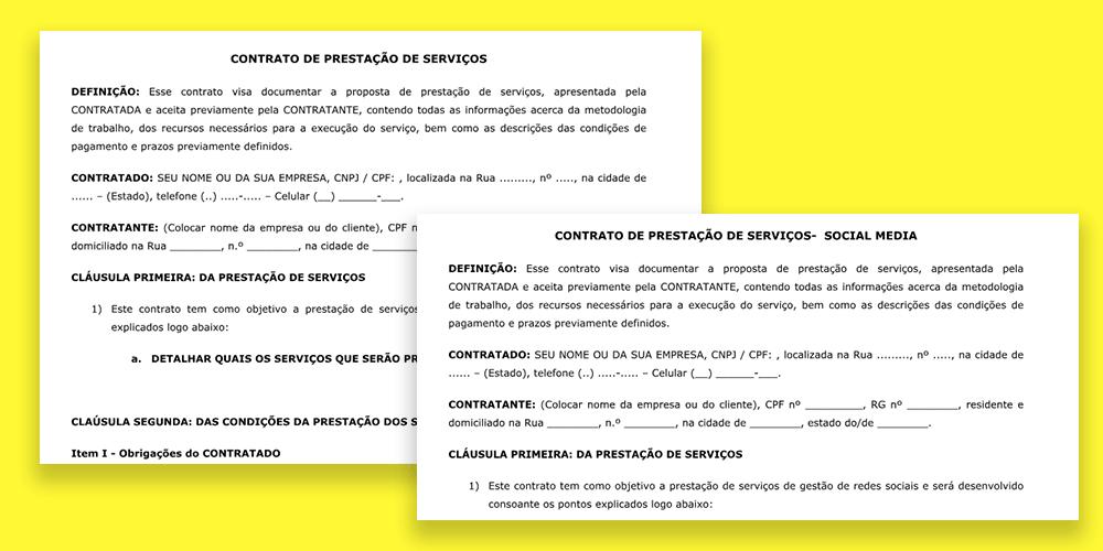 Modelo De Contrato Para Designer Descomplique Os Seus Contratos
