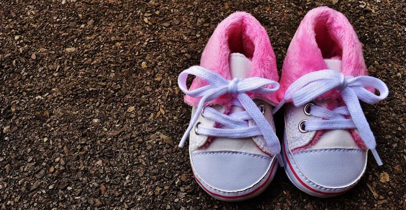 psicologia das cores tênis rosa