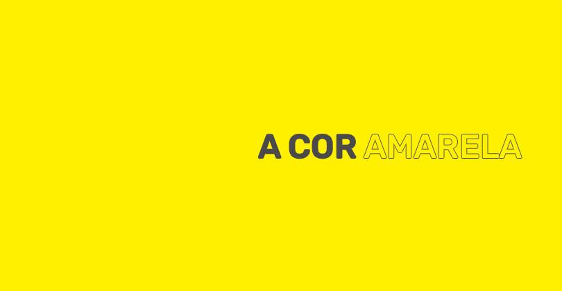 Significados da cor amarela