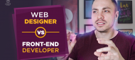 Web-designer vs Front-end