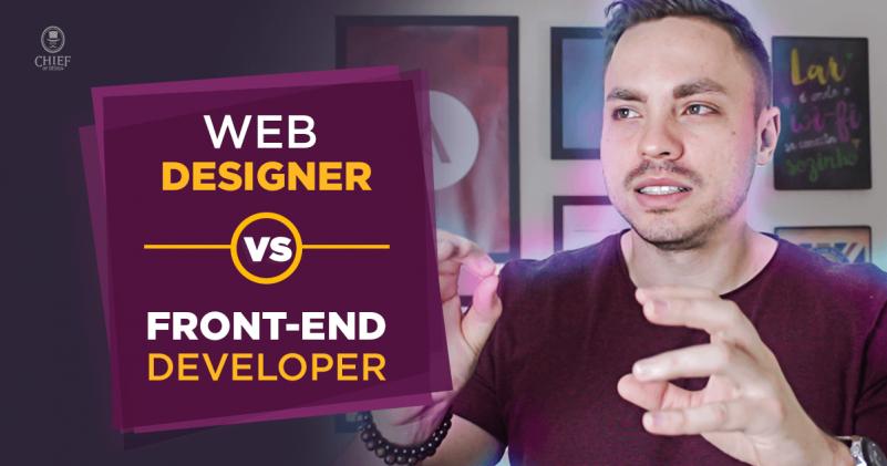 Web-designer vs Front-end
