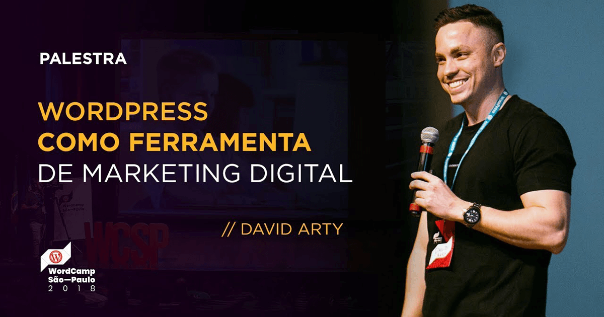 Wordpress como ferramenta de marketing digital- WordCamp2018