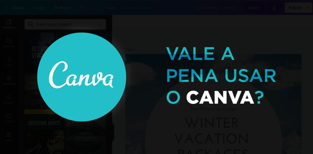 Canva Online - Vale a pena usar o Canva?