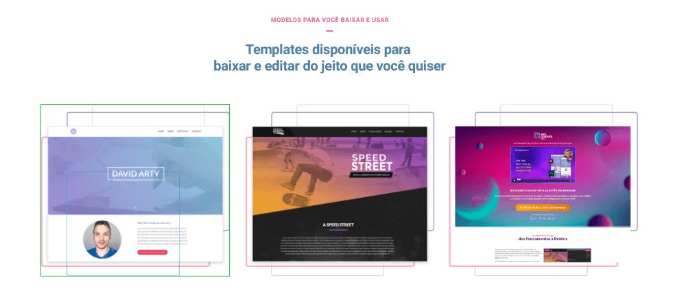 Curso de Elementor WordPress - templates
