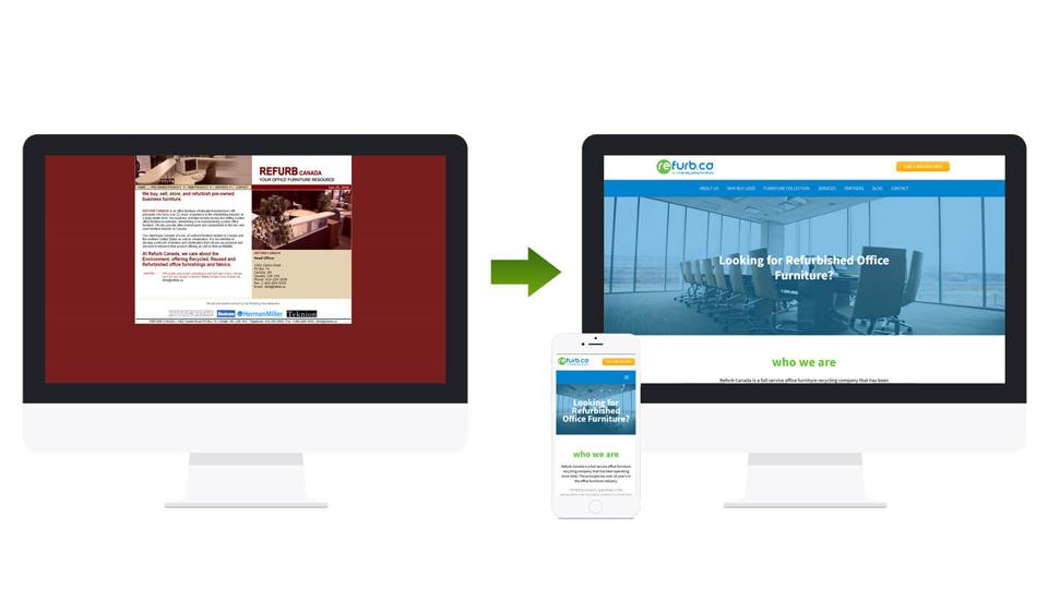 Redesign de web site